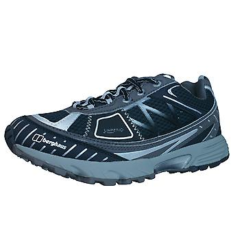 Berghaus Limpet Low Womens Tech Trail Running Trainers / Shoes - Black