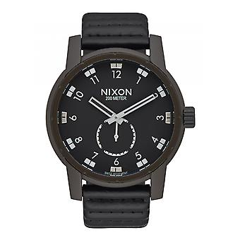 Nixon The Patriot cuir Bronze / noir (A9382138)