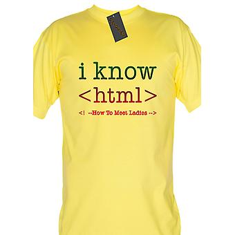 Renowned I know HTML - How to meet ladies 0533