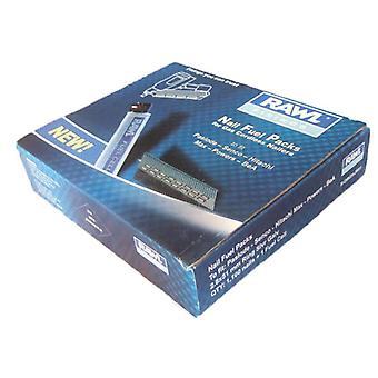 Rawlplug 3.1x75mm ring sølv galv søm 1100 + 1 brændselscelle