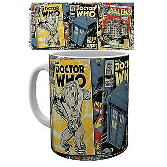 Doctor Who Comics mok