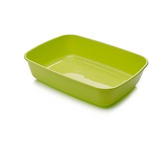 IRIZ Cat kattebakke Lime grøn 42x30.5x10cm (pakke med 12)