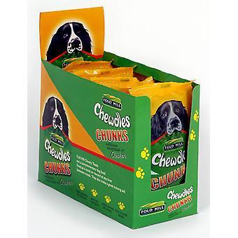 Chewdles fugtige klumper kylling 180g (pakke med 6)