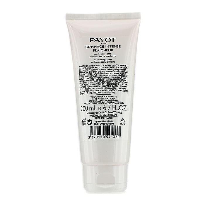Payot Les Demaquillantes peeling intensiv Fraicheur Exfoliating grädde (Salon Size) 200ml / 6,7 oz