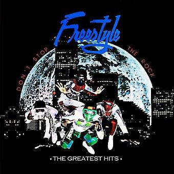 Freestyle - no deje la roca: importación de Estados Unidos The Greatest Hits [CD]