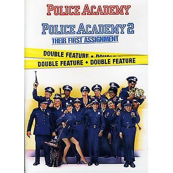 Police Academy/Police Academy 2 [DVD] USA importerer