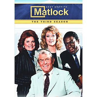 Matlock - Matlock: Importazione terza stagione [DVD] Stati Uniti d'America