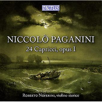 Paganini / Noferini - 24 Capricci Opus I [CD] USA import