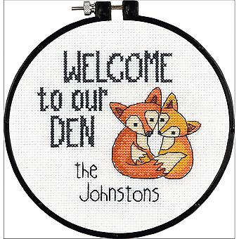 Learn-A-Craft Our Den Counted Cross Stitch Kit-6