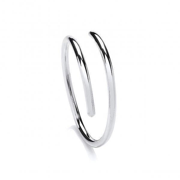 Cavendish French Sterling Silver Smooth Cleo Bangle