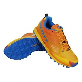 Kinabalu Supertrac Mens Off-Road Running Shoes Yellow/Orange