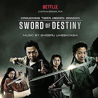 Shigeru Umebayashi - Crouching Tiger - Hidden Dragon - sværd - O.S.T. [CD] USA importerer
