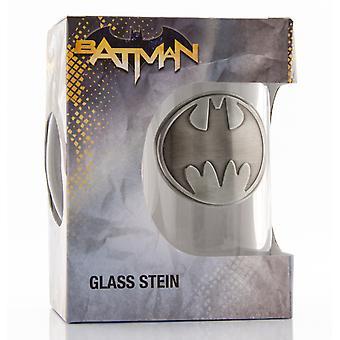 DC Comics Batman Logo Stein glas