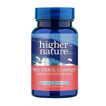Higher Nature Red Sterol Complex, 90 veg tabs
