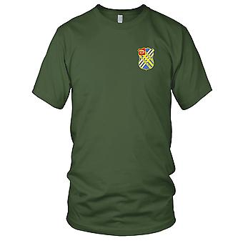 US Army - 18th Field Artillery Regiment Embroidered Patch - Mens T Shirt