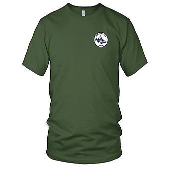 US Navy DD-442 USS Nicholson broderet Patch - Herre T-shirt