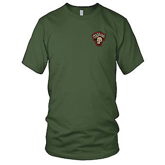 MACV-SOG Colorado - US Army Special Forces Skull CCC Recon Vietnam War Embroidered Patch - Ladies T Shirt