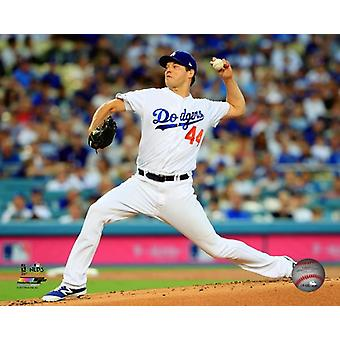 Rich Hill Game 2 of the 2017 National League Division Series Photo Print