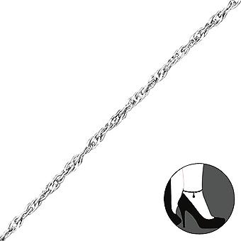 Twisted - 925 Sterling Silver Anklets - W28741x