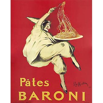 Pates Baroni Poster Print by Leonetto Cappiello (16 x 20)