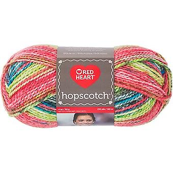 Red Heart Hopscotch Yarn-Bicycle E860-7959