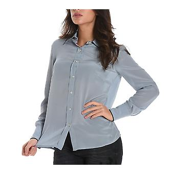 Jucca ladies J26120191473 light blue silk shirt