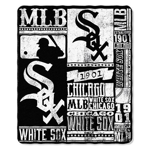 Fleece Throw Sox Northwest White Chicago Mlb 54ARjL3q