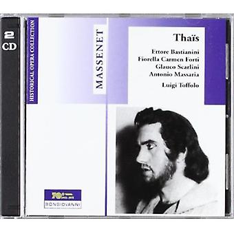 J. Massenet - Massenet: Tha S; Puccini: Il Tabarro (Finale) [CD] USA import