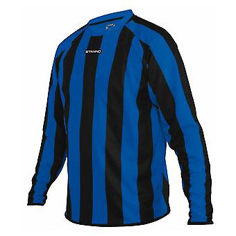 STANNO goteborg long sleeve football shirt [royal/black]