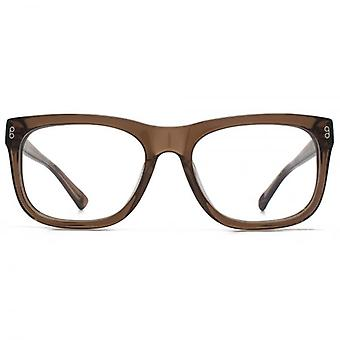 Hook LDN Bridgeman Chunky D-Frame Glasses In Streaky Grey