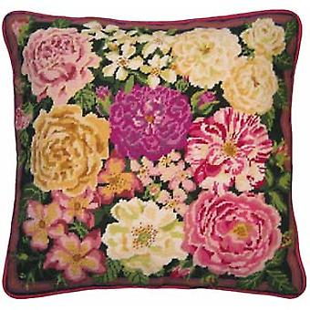 Rose Garden Needlepoint Canvas