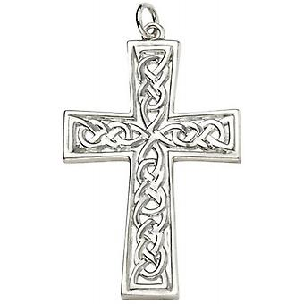Beginnings Celtic Cross Pendant - Silver