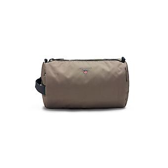 Gant mens 1801098321362 grey/brown polyester beauty case