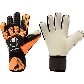 UHLSPORT SUPER RESIST Goalkeeper Gloves Size