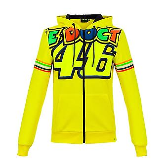 Valentino Rossi VR46 Woman The Doctor 46 Full Zip Hoodie
