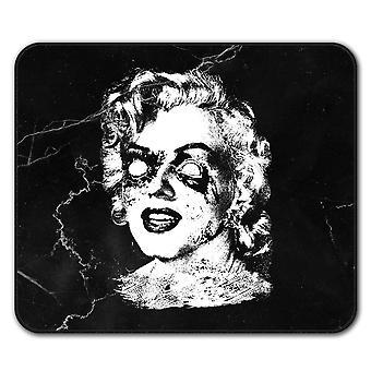 Celebridad famosa ratón antideslizante alfombra Pad 24 cm x 20 cm | Wellcoda