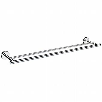 Home Double Towel Rail - Polished Chrome HK3364