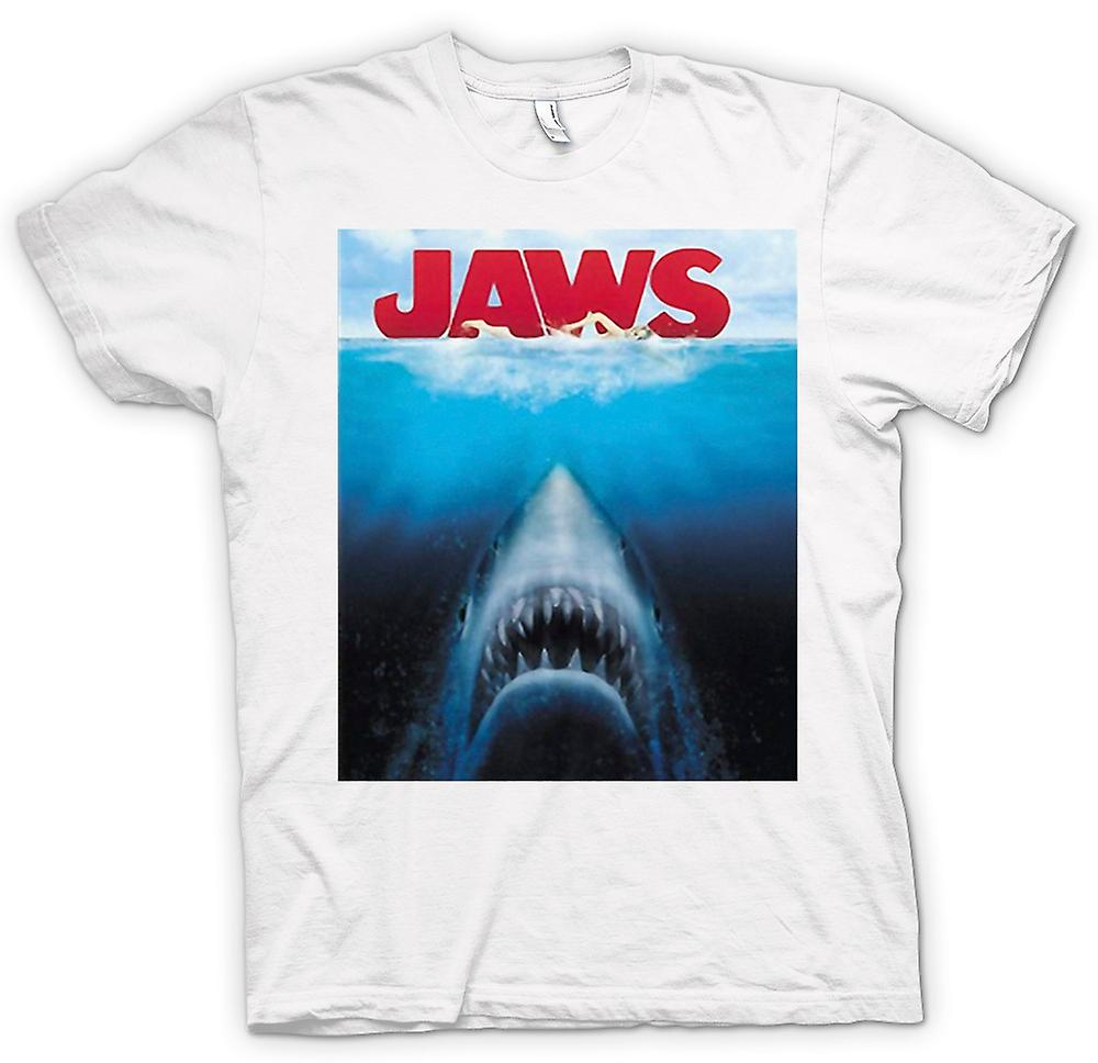 Womens T-shirt - Jaws Great White Shark - Film