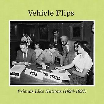 Køretøjet Flips - venner som nationer (1994-1997) [CD] USA importerer