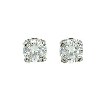 Fossil ladies earrings stainless steel cubic zirconia JA5607040