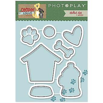 Photo Play Paper Etched Dies-Cooper & Friends