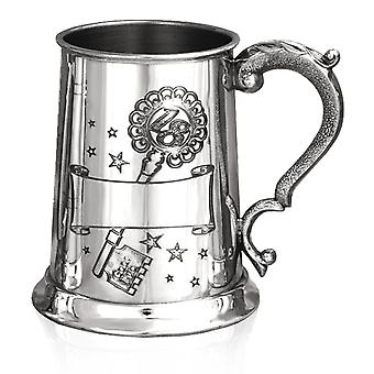 18th Birthday Key Party Scene Pewter Tankard - 1 Pint