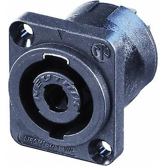 Audio jack Sleeve socket, straight pins Number of pins: 4 Black Neutrik NL4MP-UC-CON 1 pc(s)