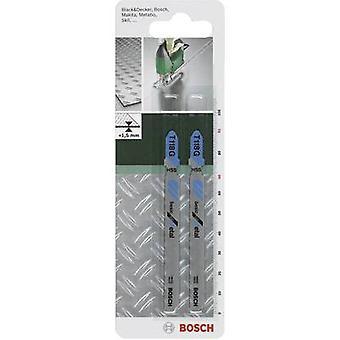 Bosch Accessories Jigsaw blade HSS, T 118 G 91 mm,2 pc(s) Saw Blade