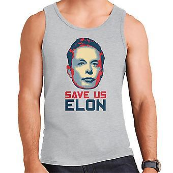 Save Us Elon Men's Vest