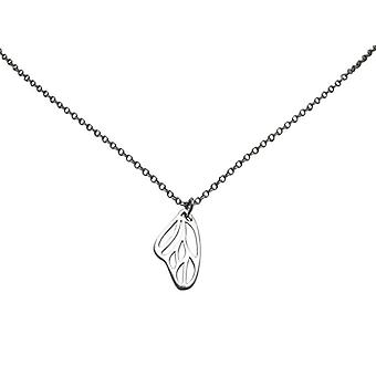 Chain ladies butterfly wings 925 Silver Pendant silver wing