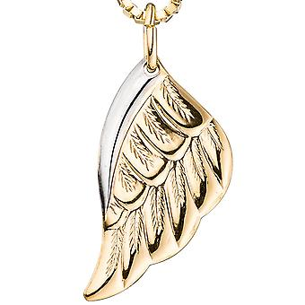 Trailer wings Angel Wings 333 bicolor gold yellow gold pendant gold