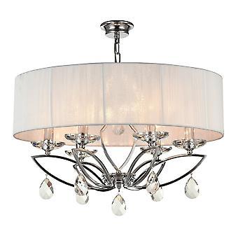 Maytoni oświetlenie Miraggio nowoczesny żyrandol, chrom
