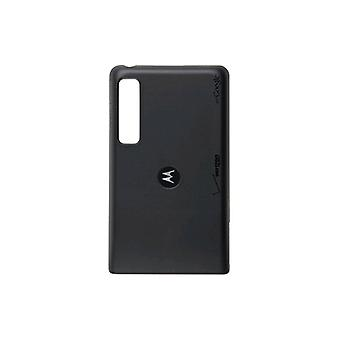 Motorola Droid 3 XT862 Wireless Charging Battery Door / Cover SJHN0740A (Black)