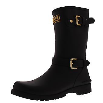 Womens Barbour International Monza Winter Waterproof Rubber Wellies Boots